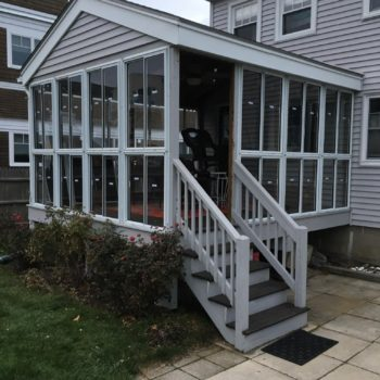 Coastal Industries Porch Enclosure