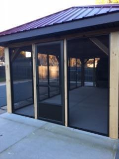 Series 990 Porch Enclosure After